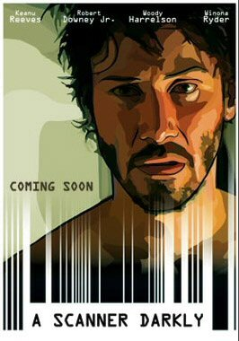 \'A Scanner Darkly\' movie poster