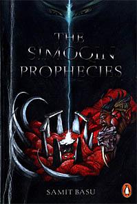 Book cover of Samit Basu\'s Simoqin Prophecies