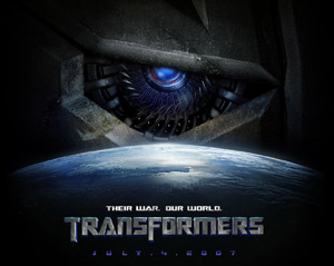 Transfomers movie poster (small)