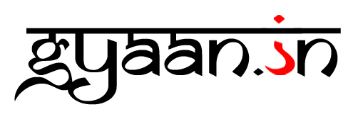 2. Gyaan.in logo with flipped question mark