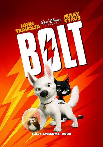 'Bolt' 2008 movie poster