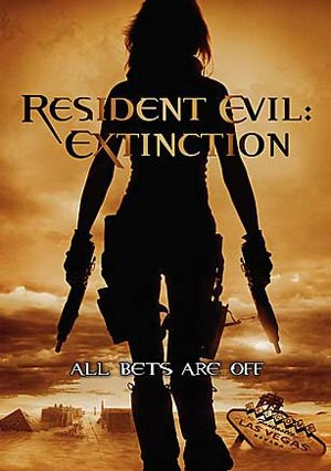 Resident Evil 3 Extinction movie poster