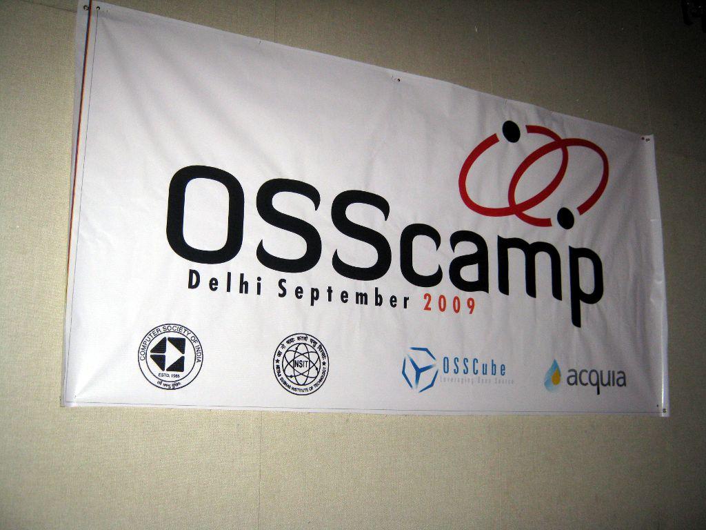 33. (Day 2) OSSCamp Banner
