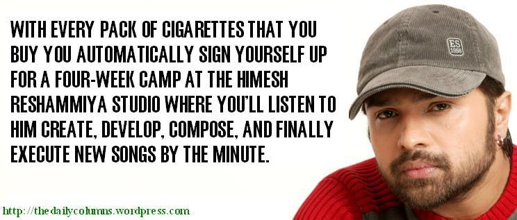 Aniche smoker warning