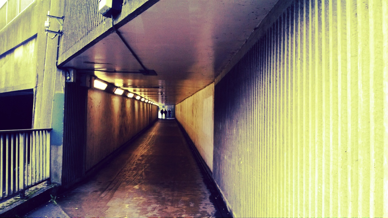 Underpass leading to Tesco