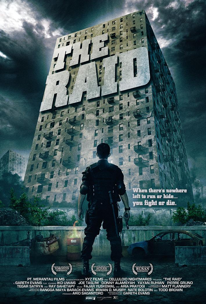 The Raid Redemption film poster