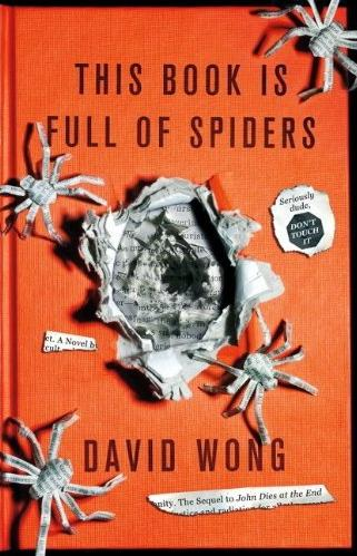 Dude This Book Is Full OF Spiders book cover